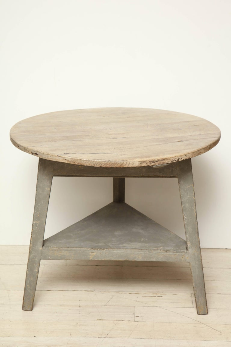 19th century circular wood side table with bleached oak for 1 oak nyc table prices
