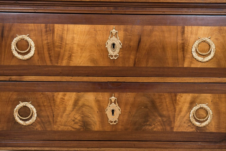 European 19th Century Continental Two-Drawer Commode For Sale