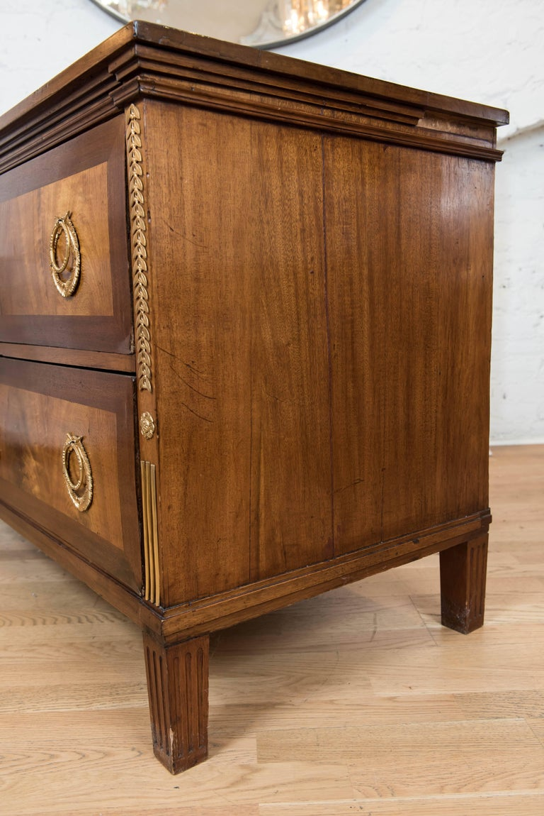 19th Century Continental Two-Drawer Commode For Sale 2