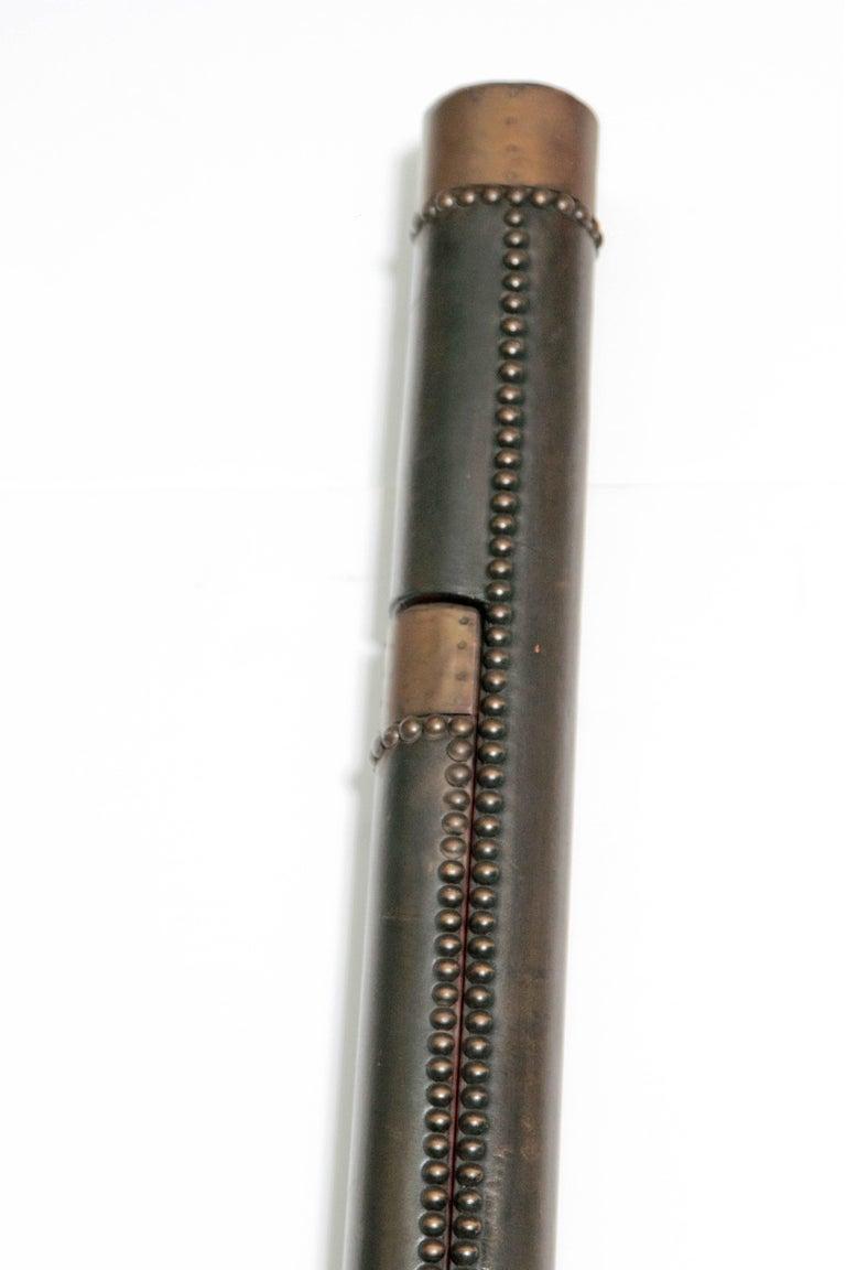 Edwardian Period Mahogany Folding Ladder For Sale 2