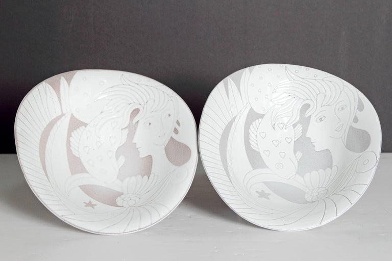 Mid-Century Bowl by Upsala-Ekeby For Sale 1