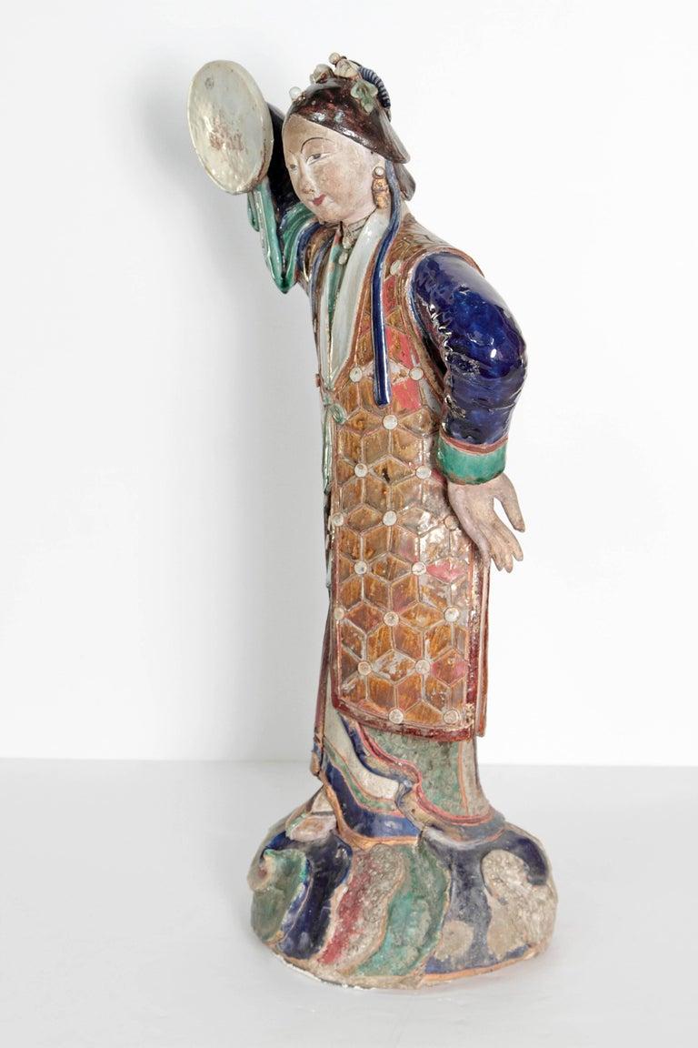 Large Chinese Ceramic Figure 2