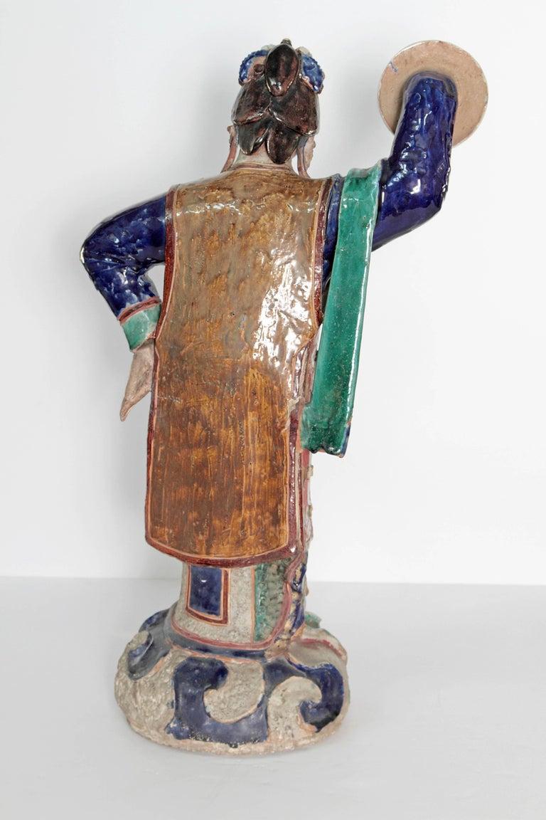 Large Chinese Ceramic Figure 4