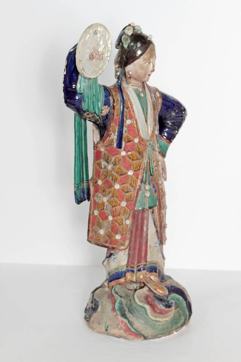 Large Chinese Ceramic Figure 5