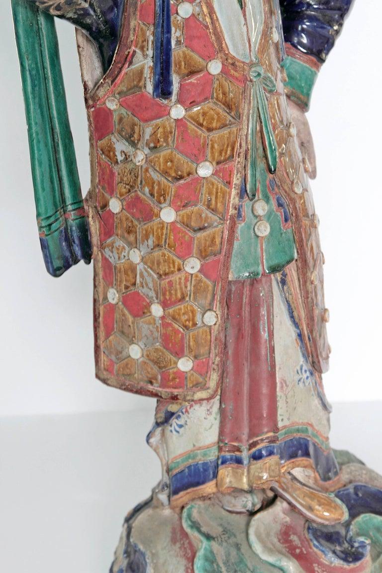 Large Chinese Ceramic Figure 6
