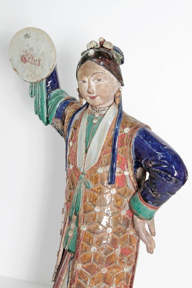 Large Chinese Ceramic Figure 8