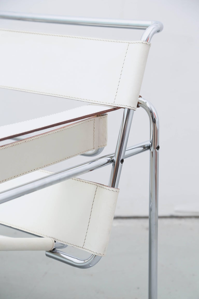 Bauhaus Wasilly Chair by Breuer, Knoll, Gavina, 1960s, Italy For Sale