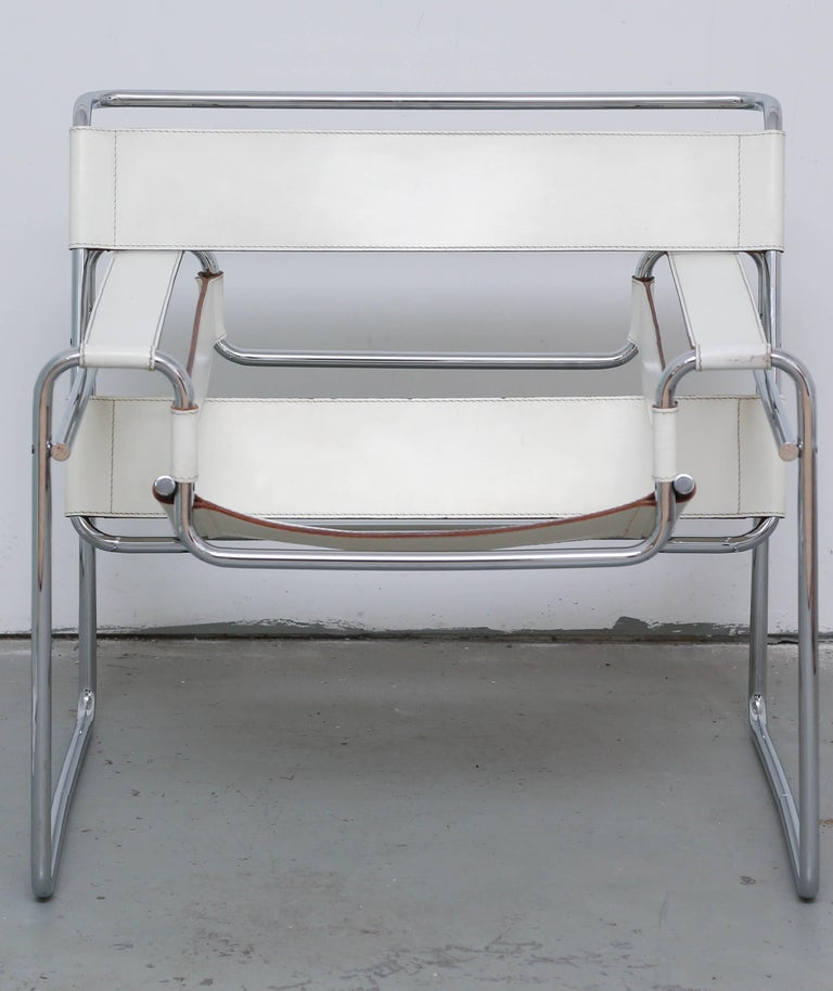 Mid-20th Century Wasilly Chair by Breuer, Knoll, Gavina, 1960s, Italy For Sale