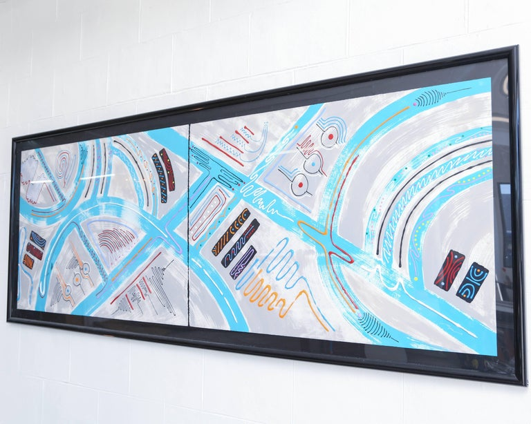 Late 20th Century Monumental Contemporary Art Piece, 1970s, USA For Sale