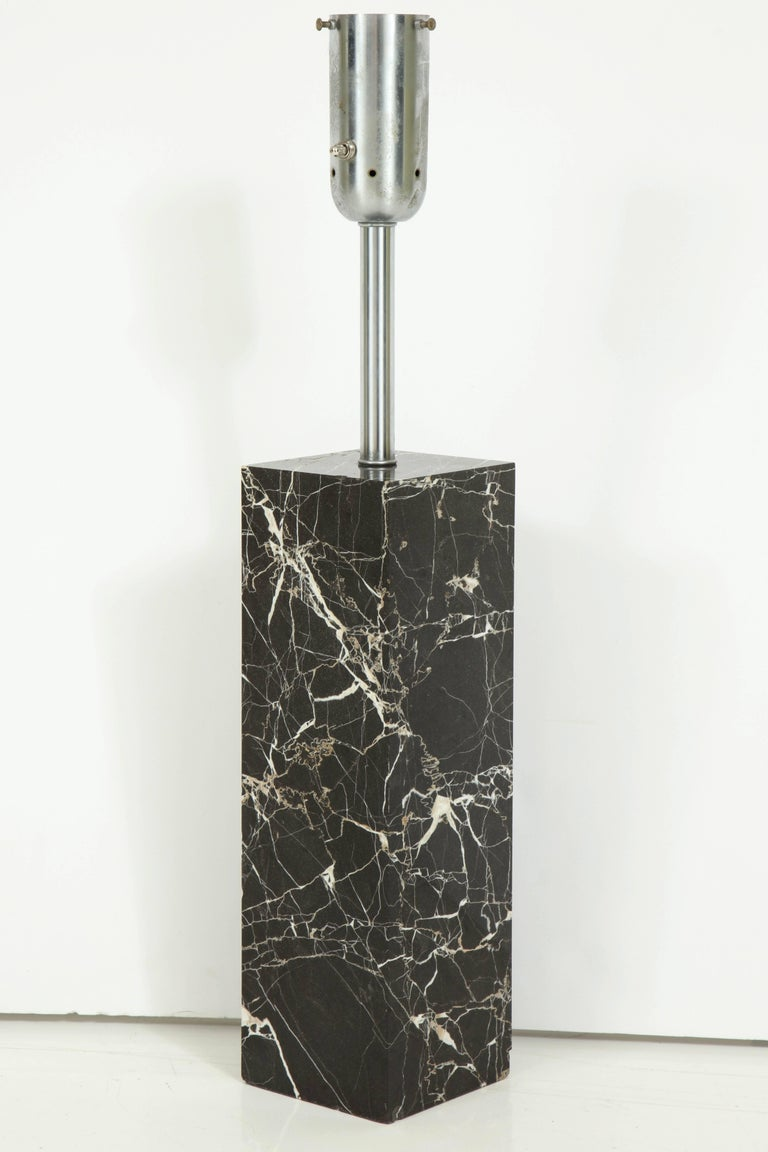 Large Marble Lamp by Nessen 2
