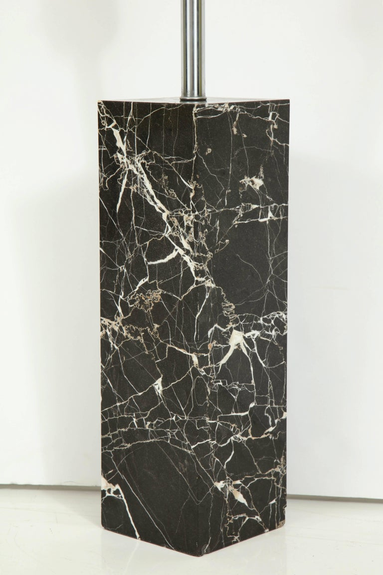 Large Marble Lamp by Nessen 3