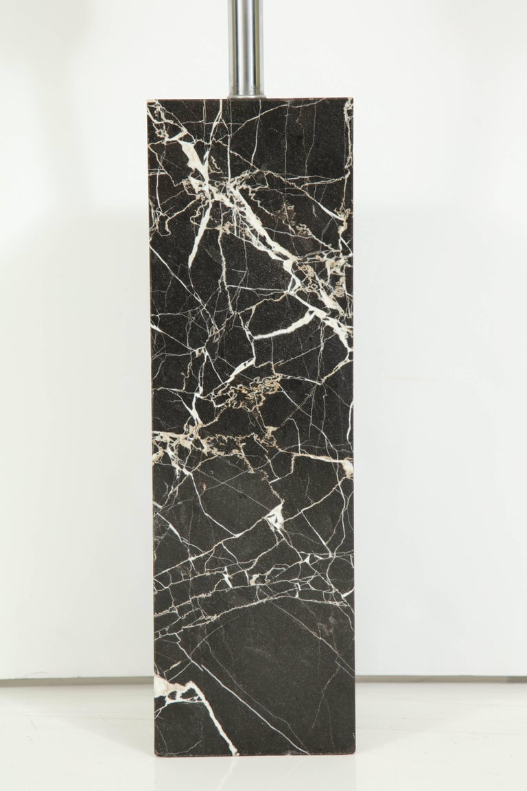Large Marble Lamp by Nessen 4