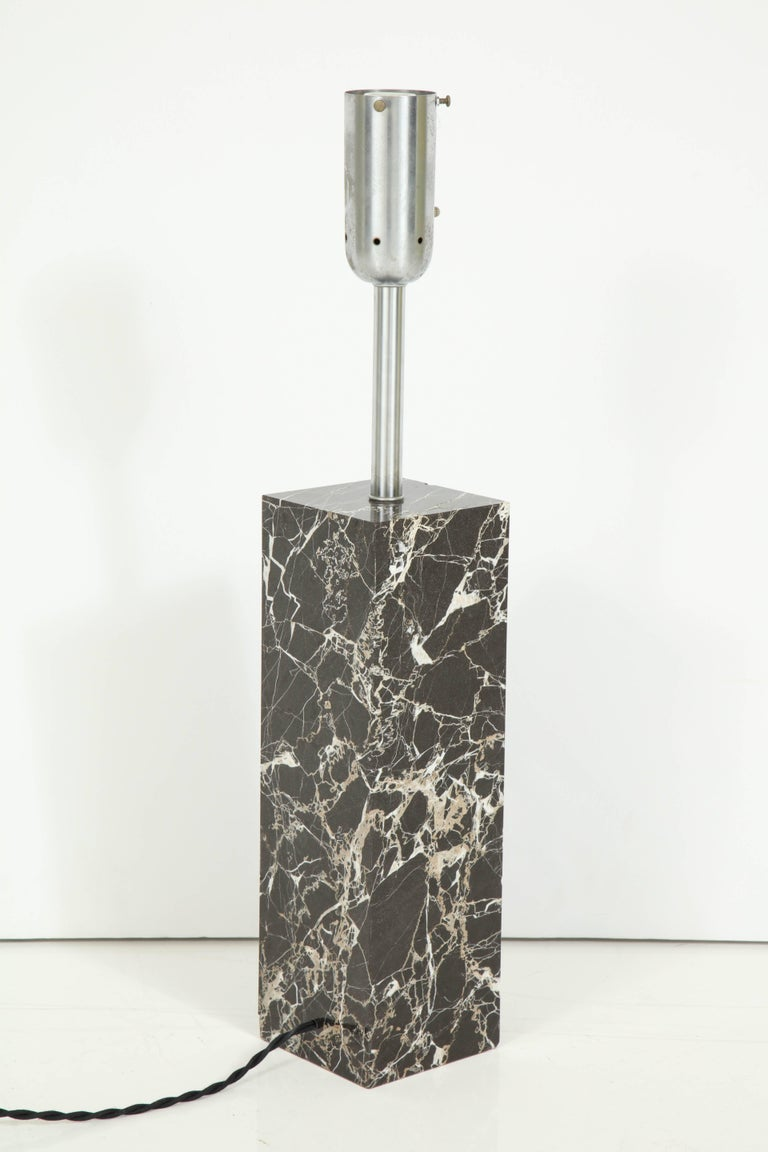 Large Marble Lamp by Nessen 6