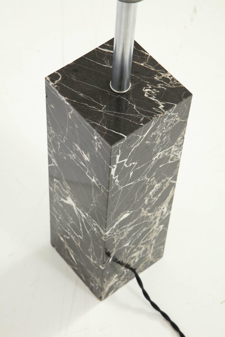Large Marble Lamp by Nessen 7