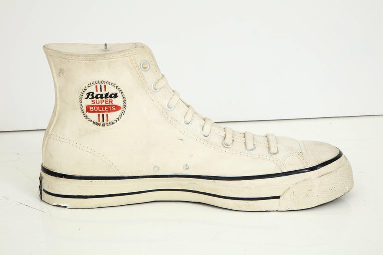 20th Century Large Plaster Promotional Bata Sneaker For Sale