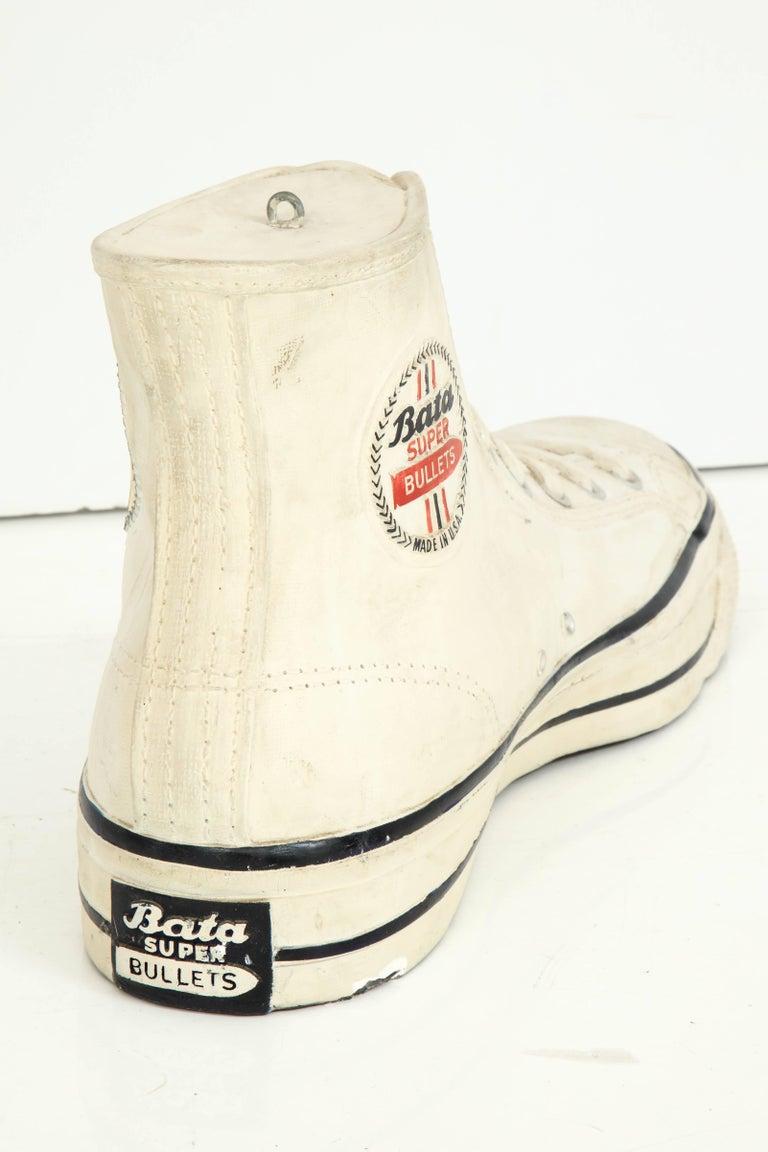 Large Plaster Promotional Bata Sneaker For Sale 2