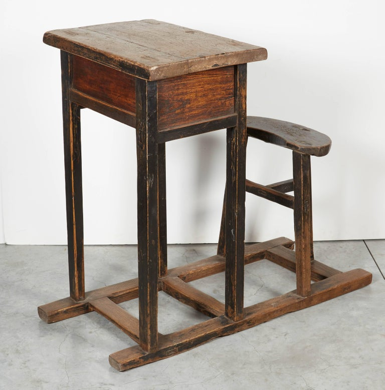 20th Century Antique Chinese School Desk For Sale