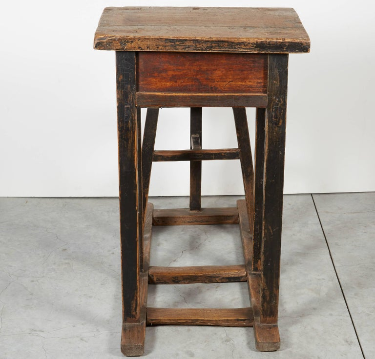 Wood Antique Chinese School Desk For Sale