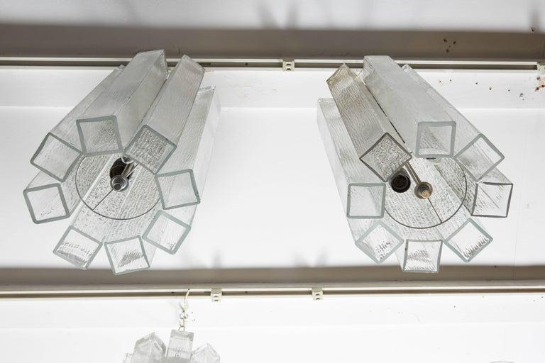 Glass Vintage Doria Pendants For Sale