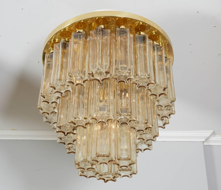 Three-tier Limburg flush mount.