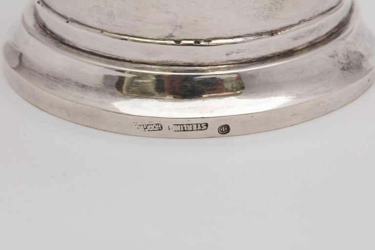 Mid-Century Modern Sterling Silver Cocktail Shaker For Sale 3