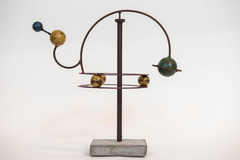 Painted Orrery Mobile Sculpture 2
