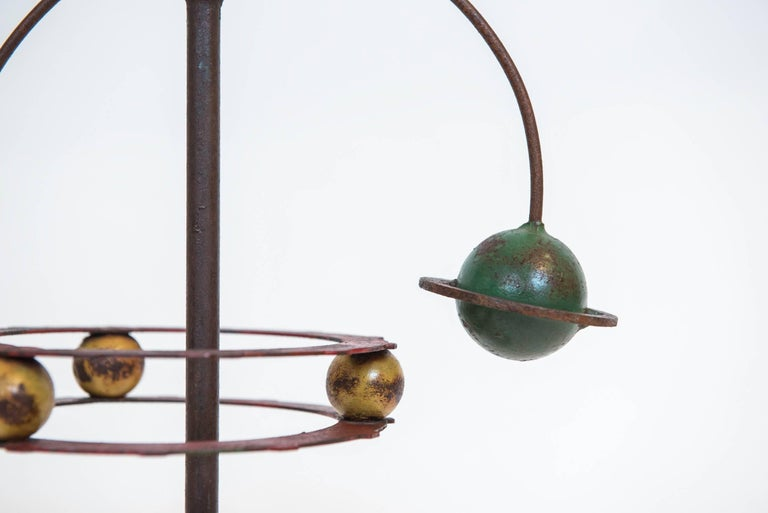 Painted Orrery Mobile Sculpture 5