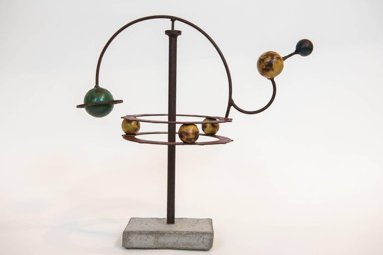 Painted Orrery Mobile Sculpture 7