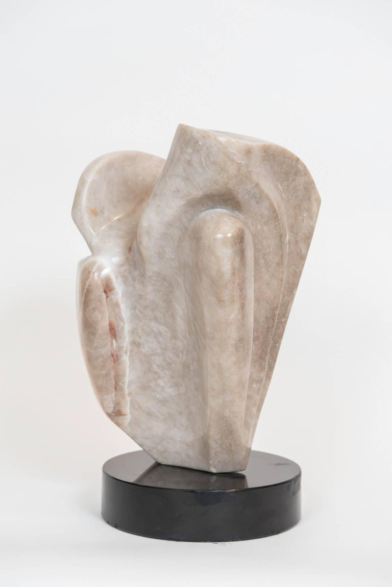 Canadian Signed Marble Abstract Sculpture For Sale