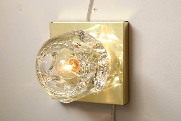 Pair of Peill and Putzler Flush Mount or Sconces In Good Condition For Sale In New York, NY