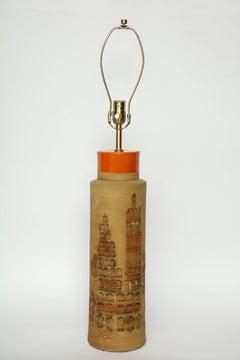 Bitossi Citiscape Ceramic Lamps