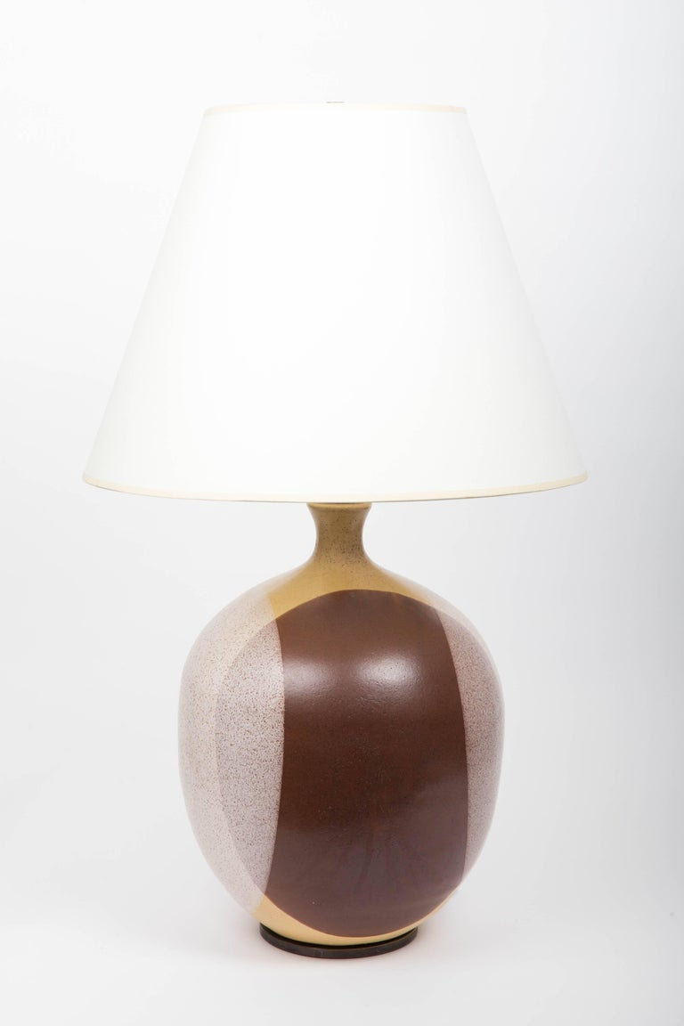 Ceramic lamp, attributed to David Cressey, 1950s