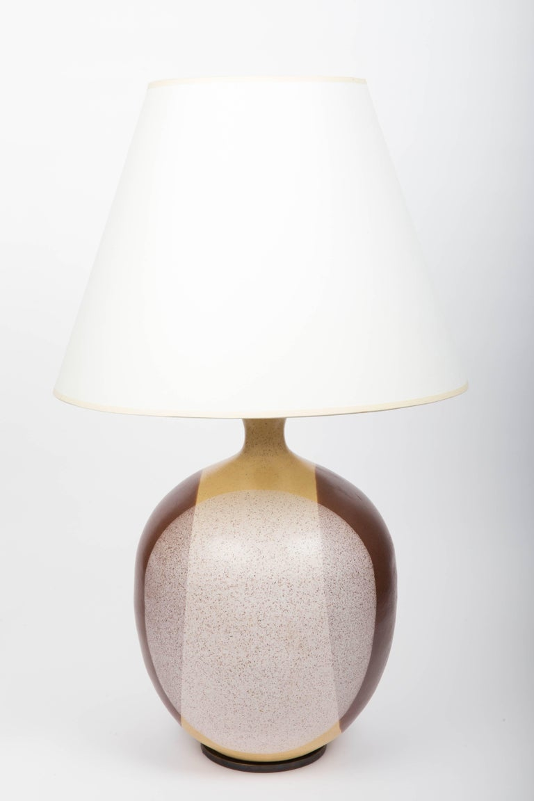 American Ceramic Lamp, Attributed to David Cressey For Sale