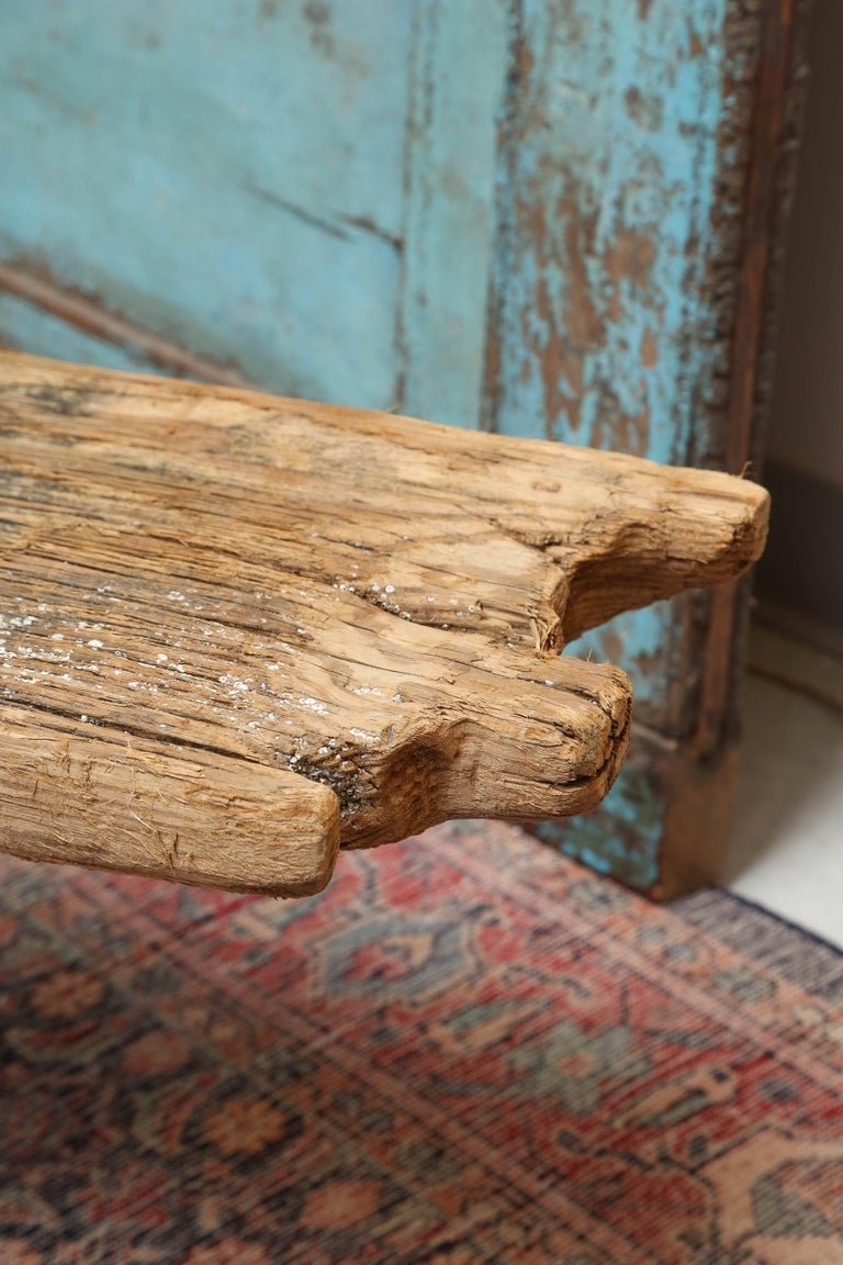 HURRICANE,IRMA ,DRIFTWOOD BENCH,Table,CONSOLE,entrance console ,artisan, signed For Sale 2