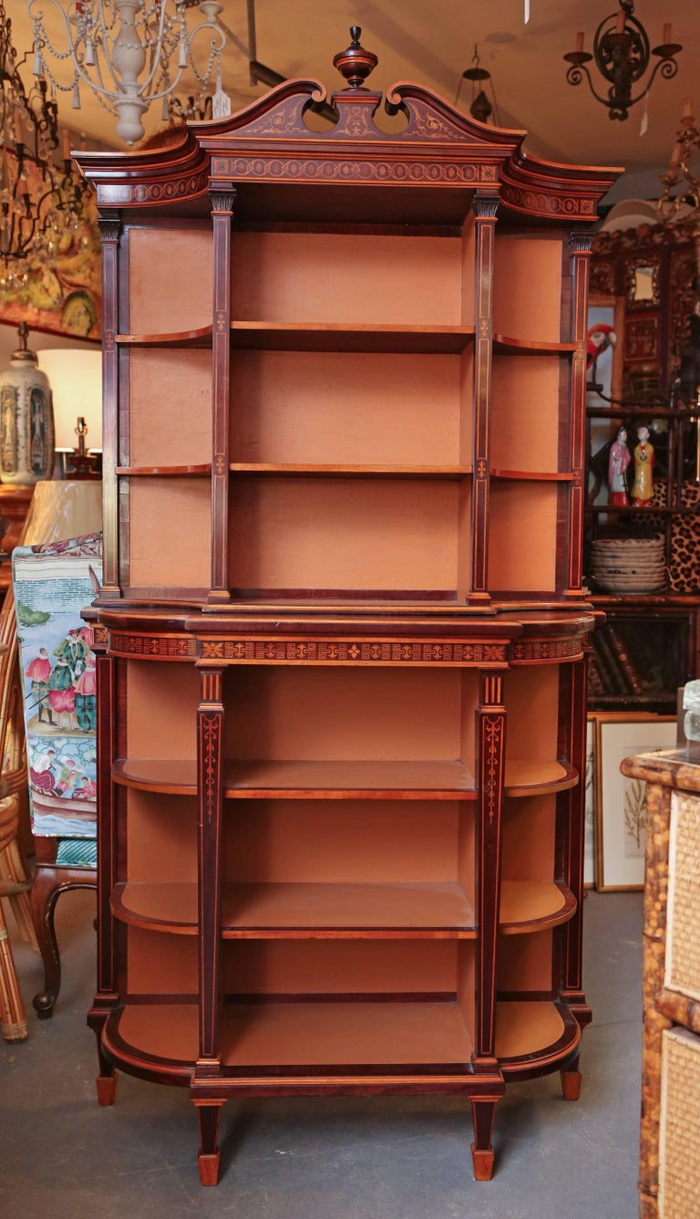 Superb Regency Display Cabinet 4
