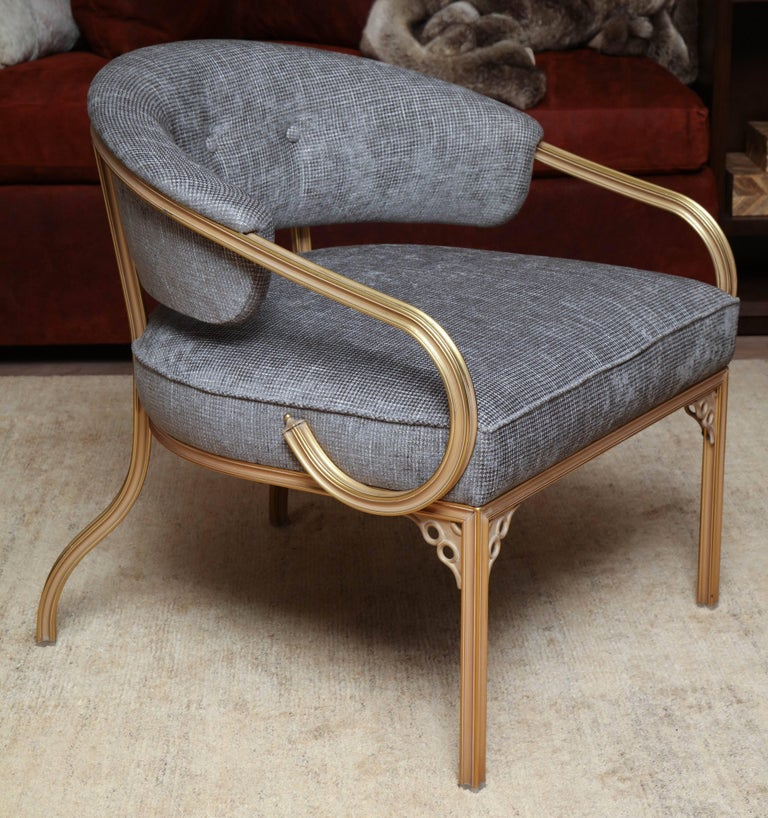 Pair of Van Koert Lounge Chairs In Good Condition For Sale In New York, NY