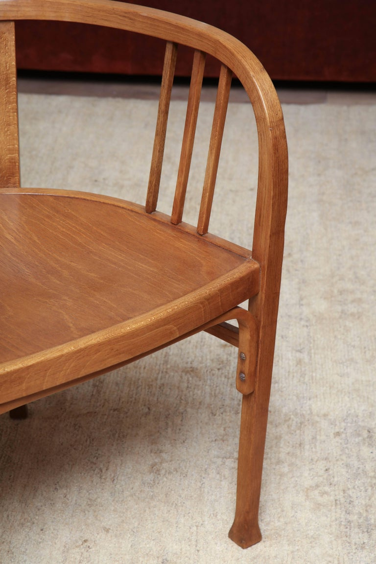 Early 20th Century Thonet Armchair For Sale