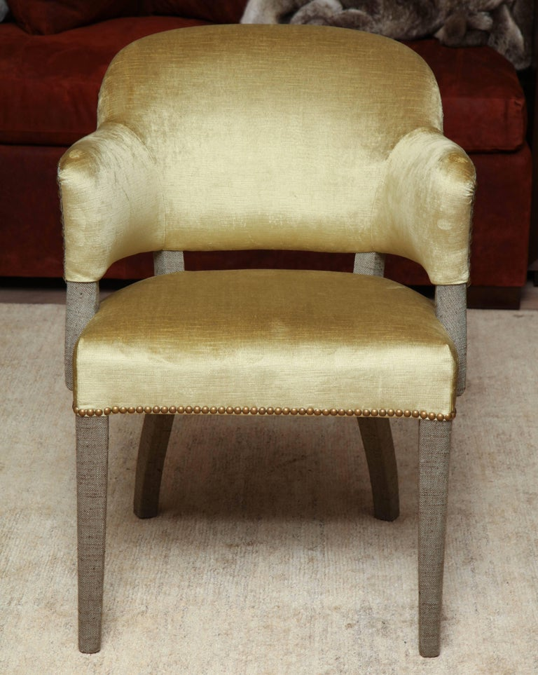 Pair of Deco Armchairs For Sale 4