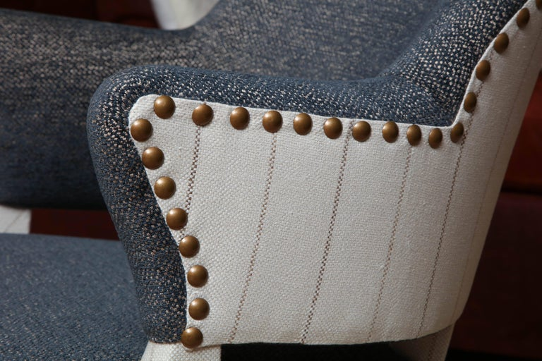 Pair of Deco Armchairs In Excellent Condition For Sale In New York, NY