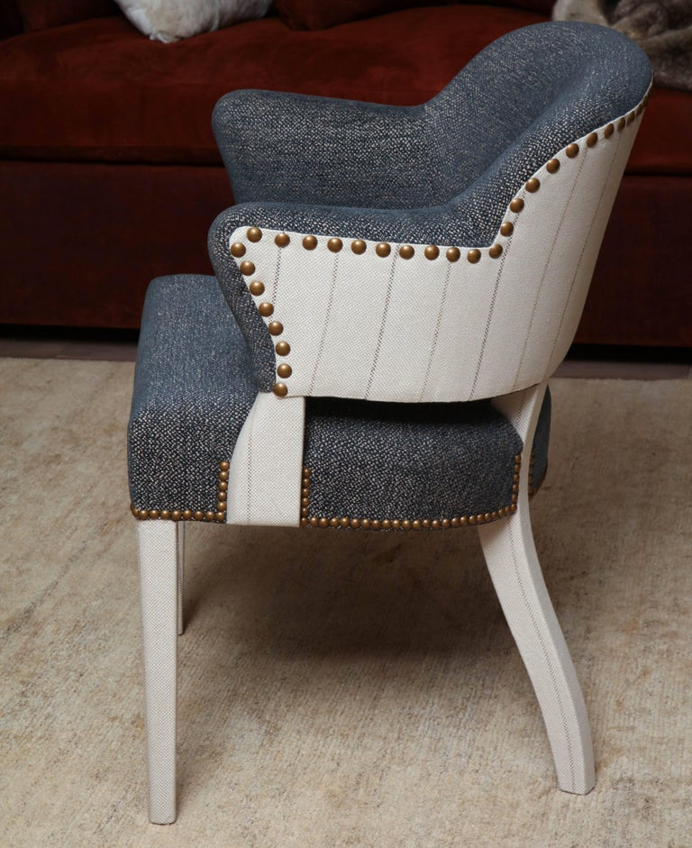Pair of Deco Armchairs For Sale 1
