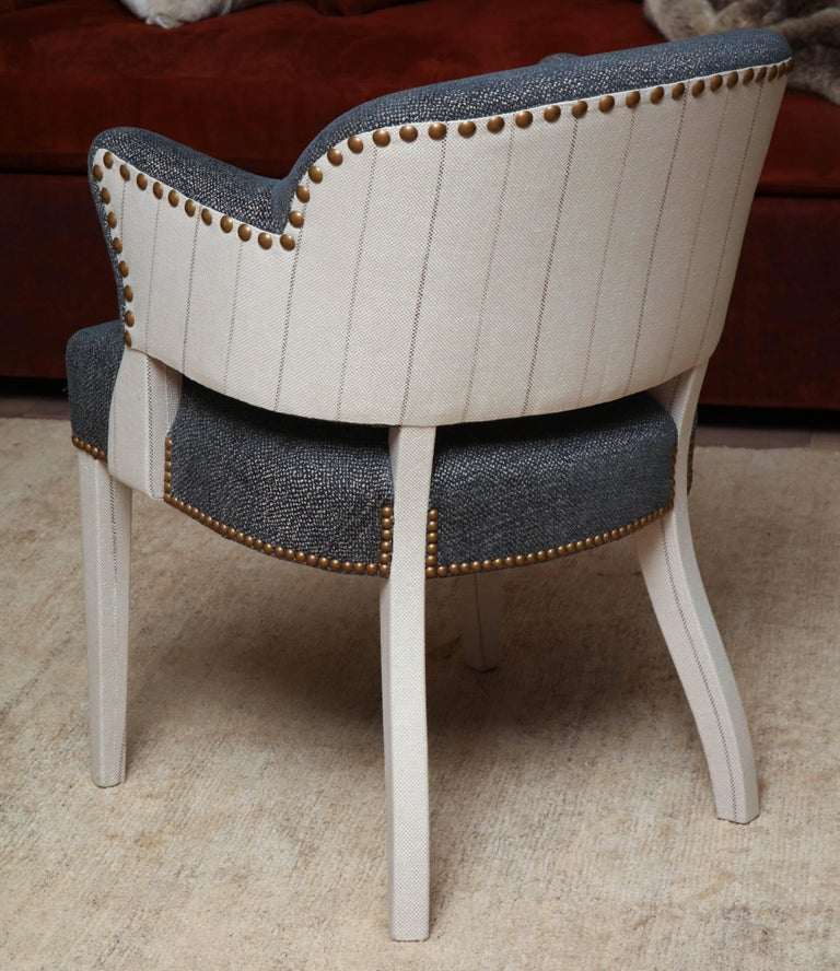 Pair of Deco Armchairs For Sale 2