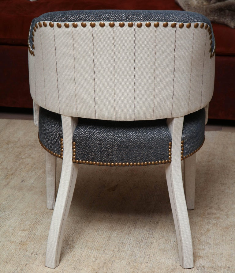 Pair of Deco Armchairs For Sale 3