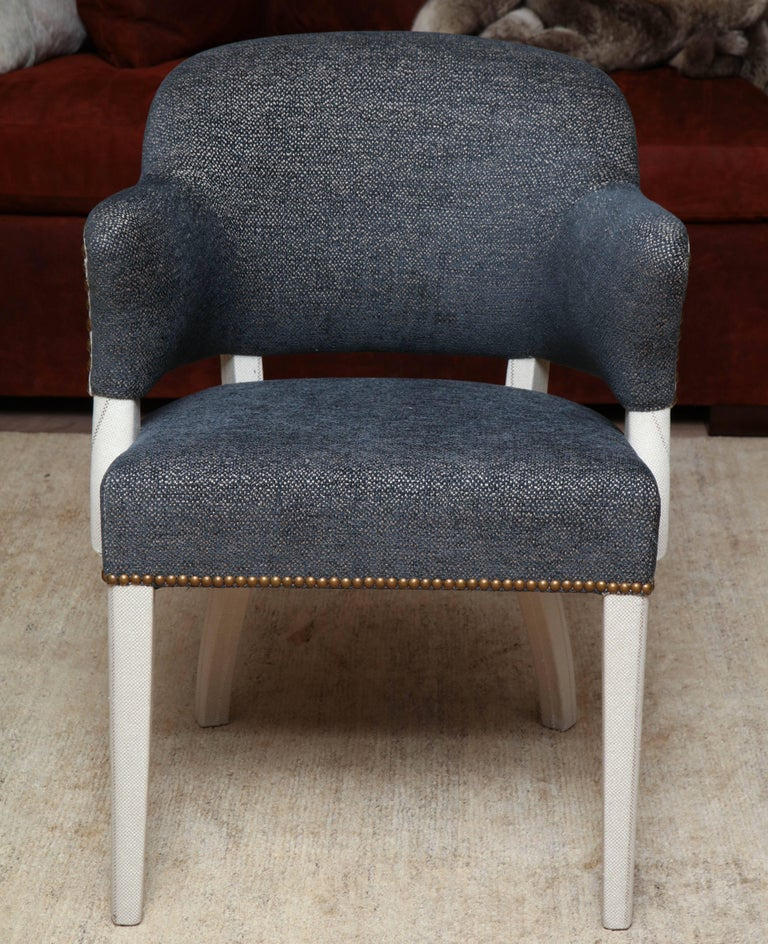 Pair of Deco Armchairs For Sale 5