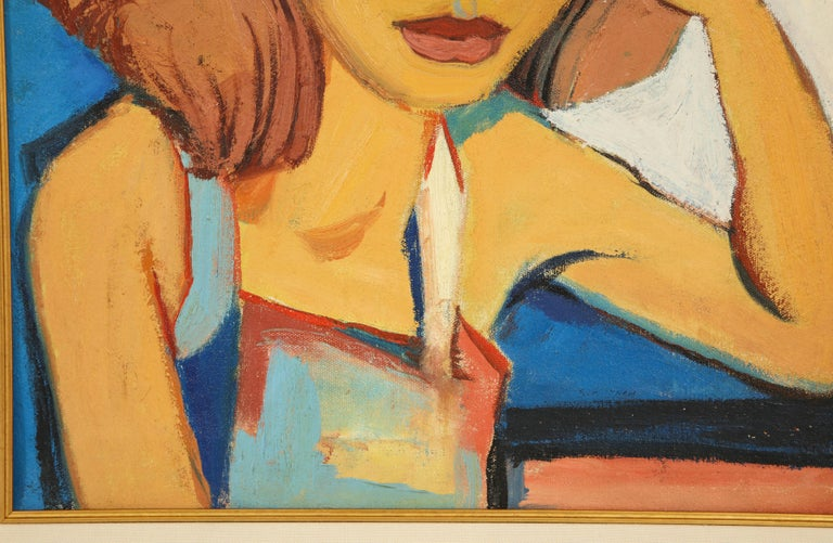Painting from the 1940s In Excellent Condition For Sale In New York, NY