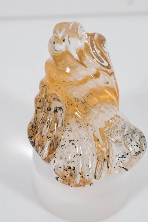 Naomi Sarna Rutilated Quartz Carving For Sale 3
