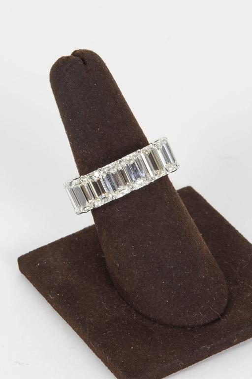 A magnificent diamond band.