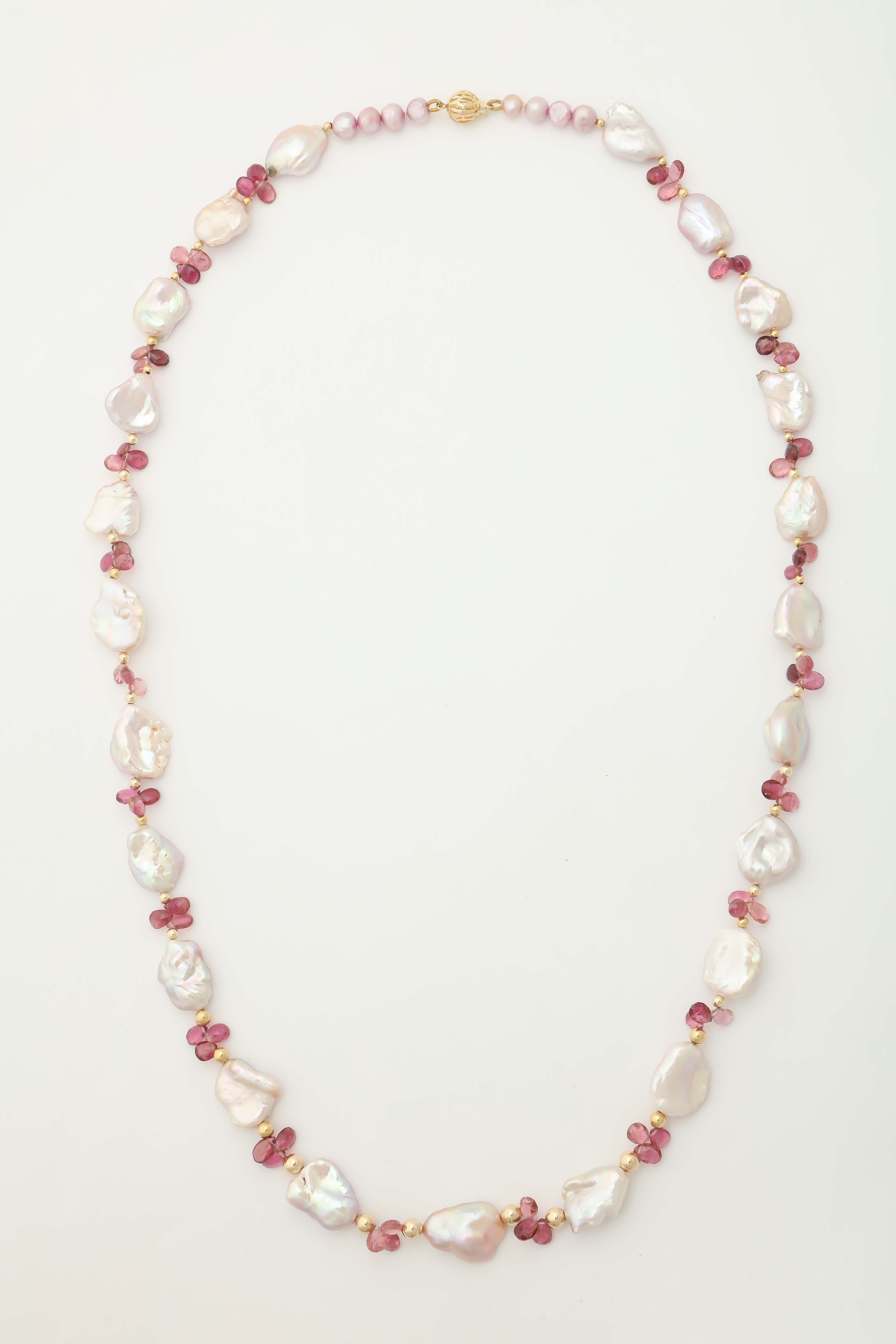 a necklaces pearl and pink white necklace of pin schoeffel selection by wonderful