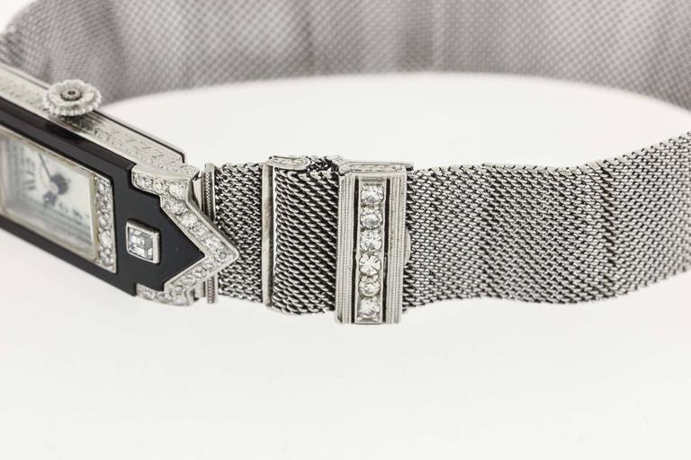 Women's Patek Philippe for Tiffany & Co. Lady's Platinum Wristwatch For Sale