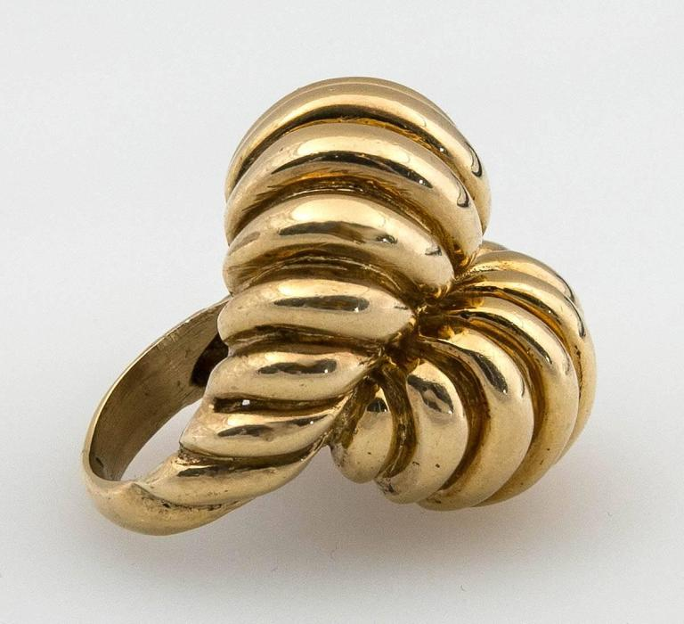 1960s heavy gold ring at 1stdibs