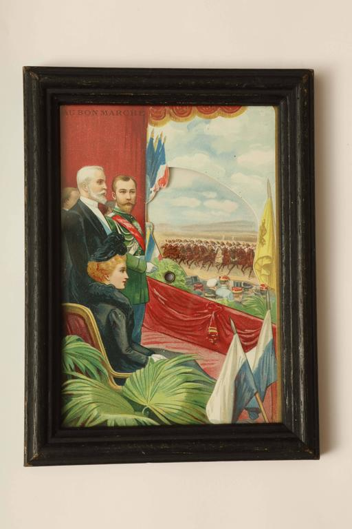 Three Commemorative Items of Franco-Russian Memorabilia, circa 1900 For Sale 1